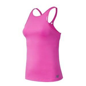 New Balance Yarra Pink Tank Workout Top